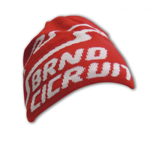 Čepice pletená BC červená