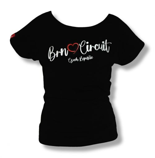 Ladies T-shirt HARTS black