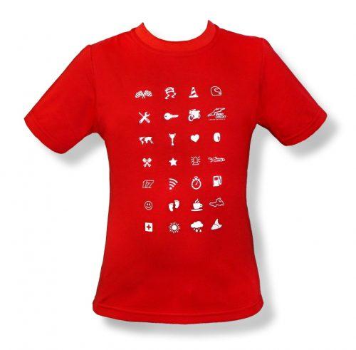 Tričko dětské SYMBOL červené