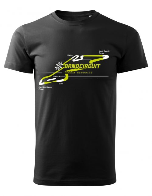 T-shirt NEON men BLACK