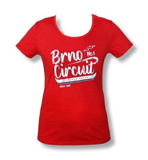 Tričko dámské NO1 červené